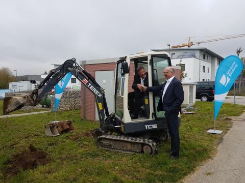 Glasfaserausbau in der bayrischen Gemeinde Zorneding startet