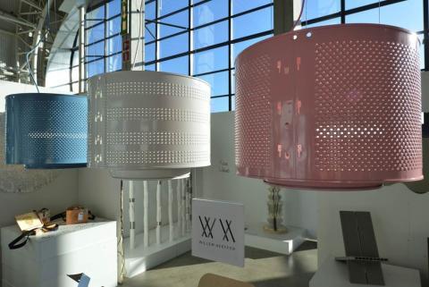 Trash Design - Armaturer av tvättmaskinstrummor av Willem Heefer