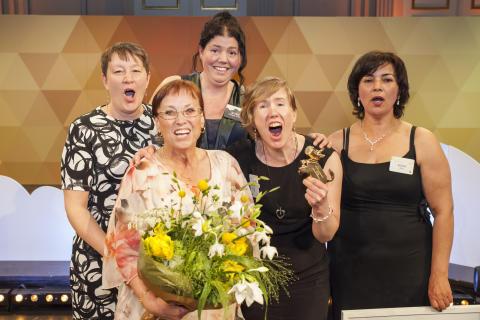 Vinnare Arla Guldko Bästa Matglädjeskola 2018 - Slottsskolan