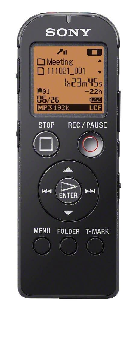 Diktiergeraet ICD-UX523 von Sony_schwarz