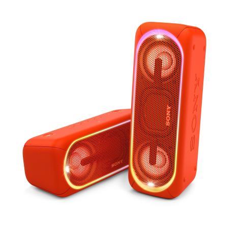 Sony introduceert draadloze EXTRABASS partyspeakers en koptelefoons