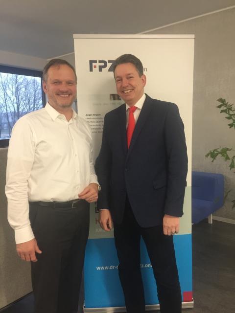 FPZ ist zertifizierter Auftragsverarbeiter