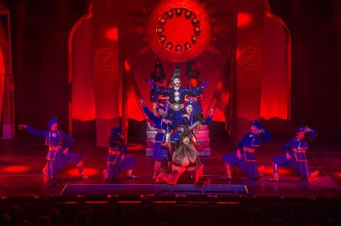 Premiär för familjemusikalen Äventyret Aladdin