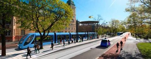 Trikkebyen Oslo skal realiseres: Trikk på Ring 2