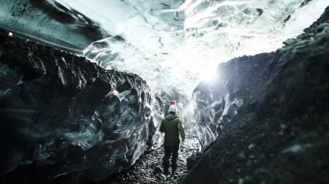 Vatnajökull, Island, från utställningen Arktis – medan isen smälter