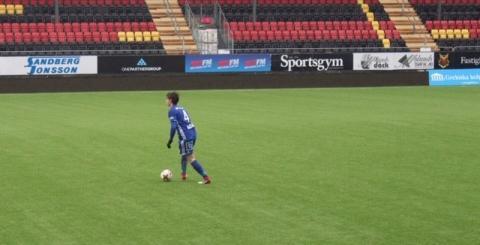 Teodor har en lysande karriär som fotbollsspelare framför sig