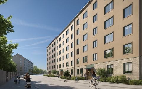 Lindbäcks bygger Stockholmshems första Stockholmshus