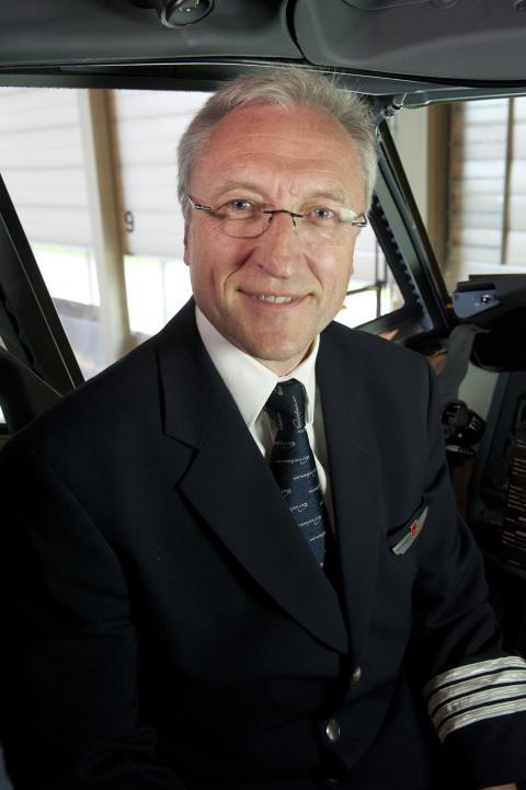 Tomas Hesthammer, flygesjef i Norwegian