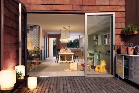 Ikano Bostad bygger 100 nya bostäder i Nacka
