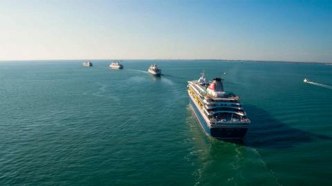 Fred. Olsen Cruise Lines asks guests to help name next fleet get-together in Lisbon in 2021