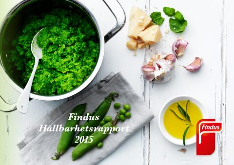 Findus Hållbarhetsrapport 2015 - Interaktiv version