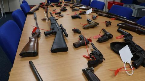 Firearms surrender 2017