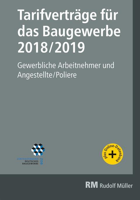 Tarifverträge für das Baugewerbe 2018/2019 (2D/tif)