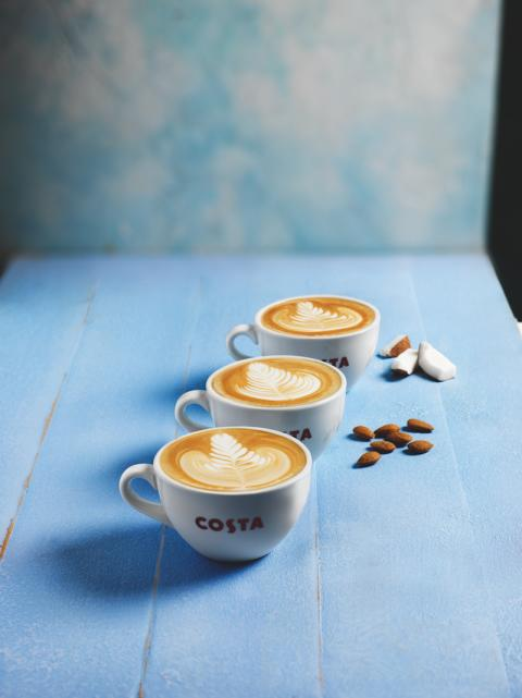 COSTA COFFEE LAUNCHES FRESH NEW MENU FOR JANUARY