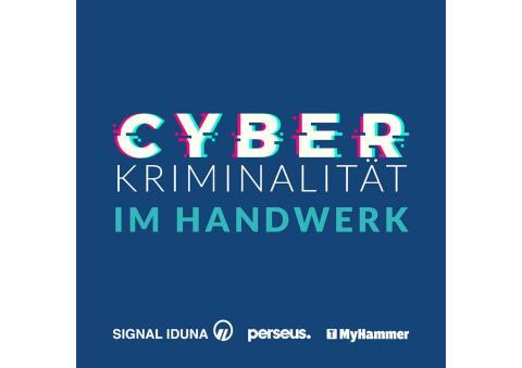 10 Einzelgrafiken zur Cyberkriminalität, insb. im Handwerk, in 10-seitiger PDF-Datei