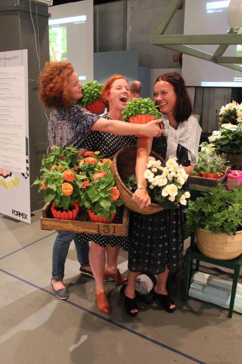 Lotta, Anna och Camilla från Oddbirds väljer svenskodlat