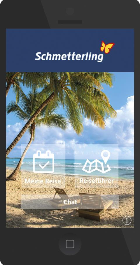 Das Reisebüro für unterwegs - Die neue Schmetterling Travelbox App setzt neue Maßstäbe für die Kundenkommunikation