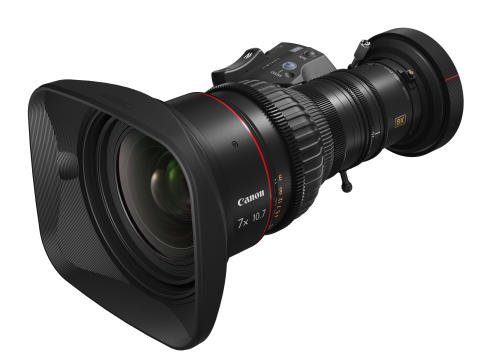 Canon unveils its first two zoom lenses for 8K broadcast cameras