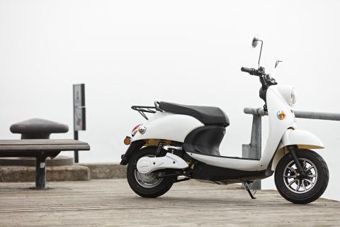 Agva Kraft scooter brygge