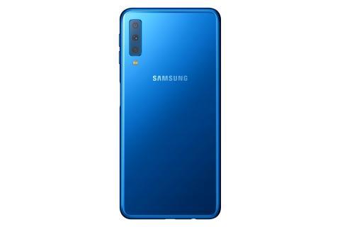 Samsung Galaxy A7_Back_Blue