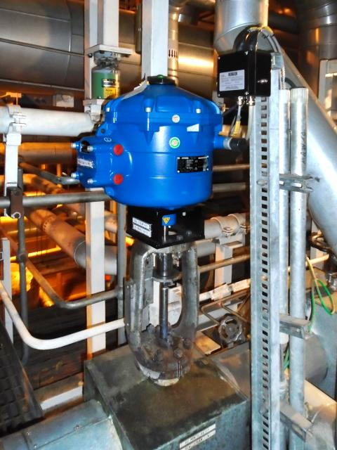Installation of CVL linear actuators at Didcot B Power Station