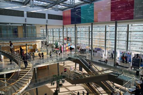 Blick ins Congress Center Leipzig