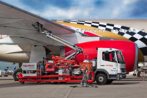 Cavotec fuelling arm Frankfurt Airport