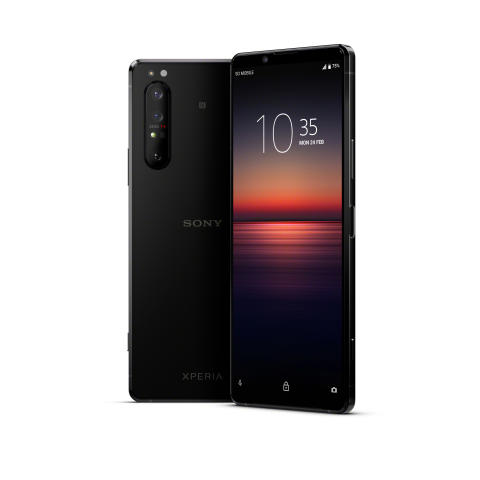 Xperia 1 II Black_Main