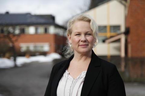 Anna Lihr, t.f. kommunikationsdirektör på Trafikverket