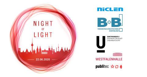 NicLen, B+B Veranstaltungstechnik und publitec gemeinsam bei Night of Light