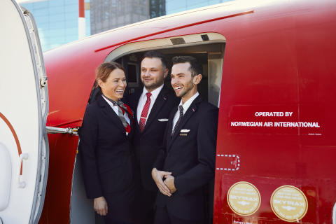 Norwegian crew members
