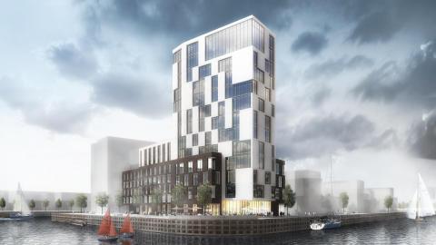 Midroc utvecklar World Trade Center i Oceanhamnen, Helsingborg