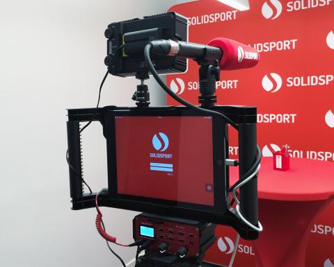 Solidsport Broadcaster – ett enklare sätt att livesända sport på