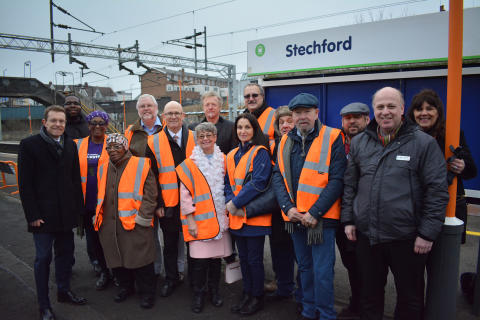 Railway station volunteers praised by West Midlands Mayor