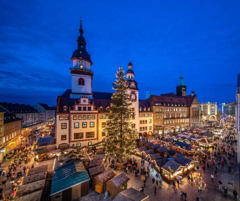 2. Weihnachtsbaum in Chemnitz