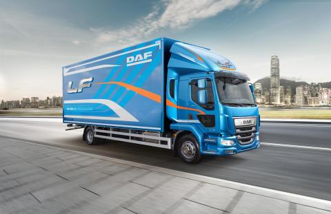 DAF LF -sarja palkittiin Britanniassa Vuoden kuorma-auto 2019 -palkinnolla
