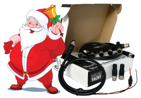 Connected Christmas Hamper From Digital Yacht