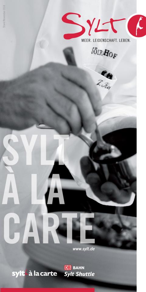 Genussflyer Sylt à la Carte