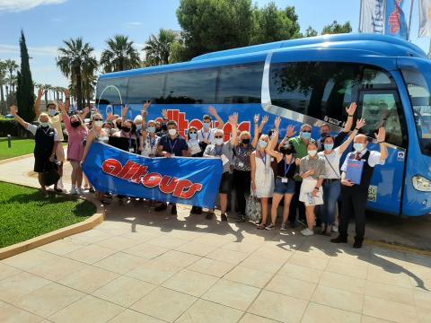 Mit alltours auf Entdeckungstour durch Mallorca - 30 Expedienten begeistert von allsun Hotels und der neuen Reisefreiheit