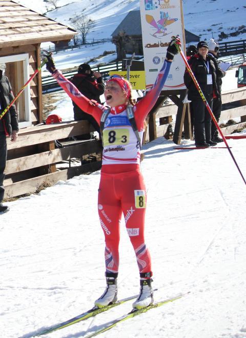 Ingrid Landmark Tandrevold,stafett junior kvinner,junior-vm 2016