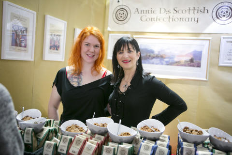 Annie D:s Scottish Confectionary på En Öl & Whiskymässa
