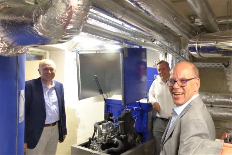 Kommunale Kooperation spart mit Nahwärmeverbund CO2 in Bad Wünnenberg