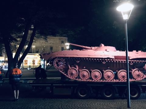 Pressinbjudan: Invigning av Pink Tank på Raoul Wallenbergs Torg