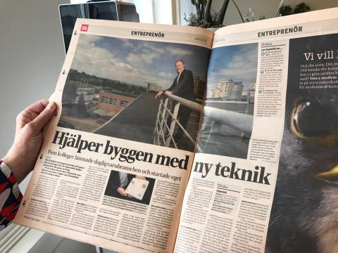 Läs om oss i Dagens industri!