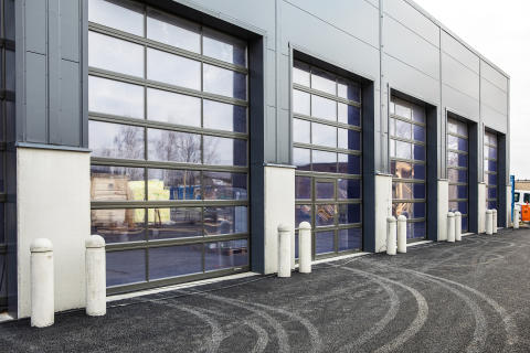 Lindab leverer porte til 15.000 m2 svensk byggeprojekt