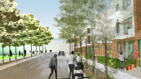 Ikano Bostad bygger hyresrätter i Riddersvik i Stockholm