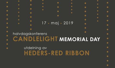 Välkommen till Candlelight Memorial Day-konferens & Heders-Red Ribbon!