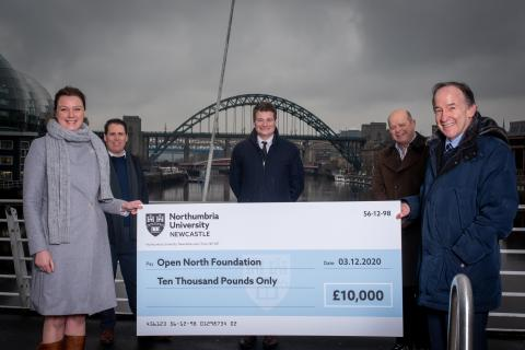 Largest single support package secured as partnership with Northumbria University is signed