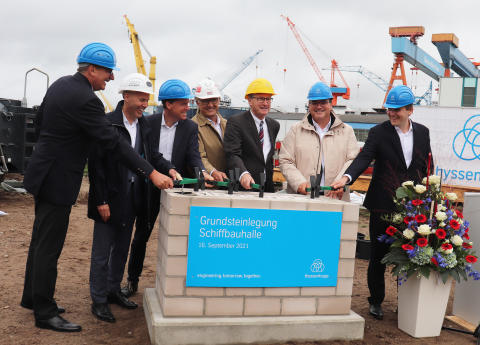 ZÜBLIN, shipbuilding facility for thyssenKrupp Marine Systems