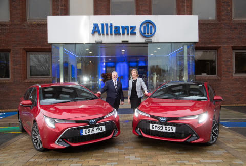 Allianz switches to hybrid power with new Toyota and Lexus vehicle fleet deal